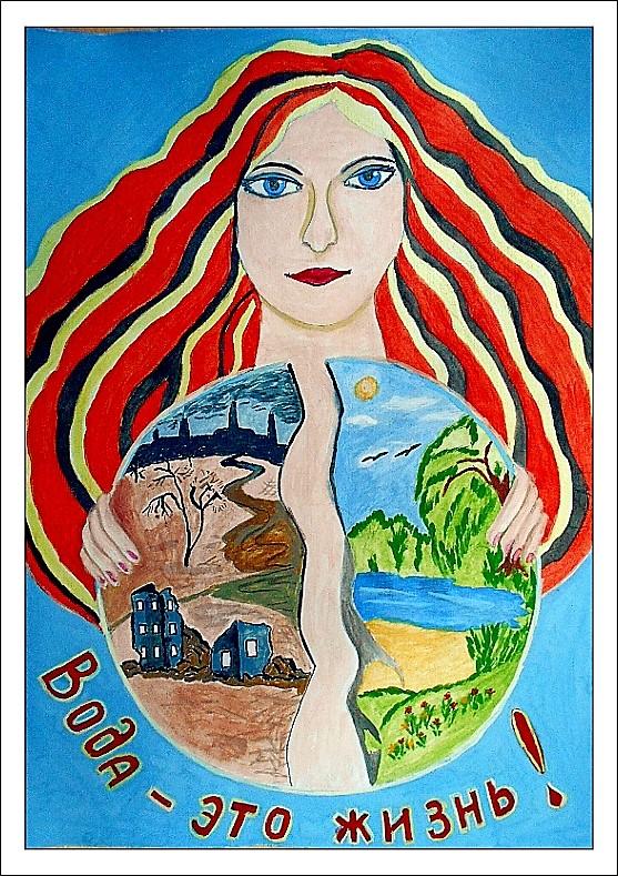 «Вода-это жизнь!» Луговская Екатерина