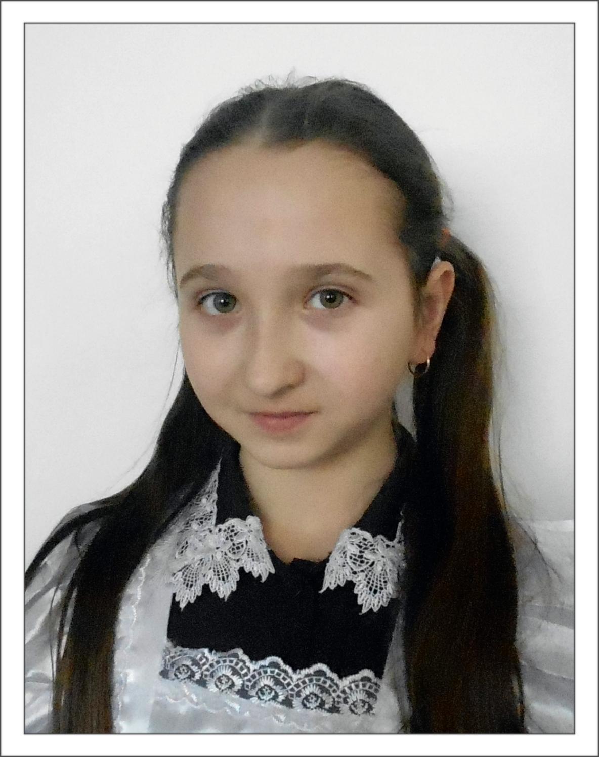 Ляшенко Кристина, учащаяся 6 класса